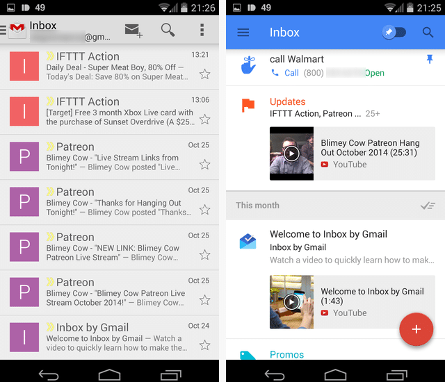 Inbox by Gmail Get Started with Inbox by Gmail