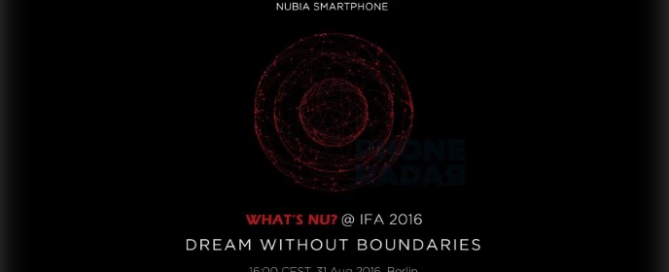 NUBIA IFA 2016