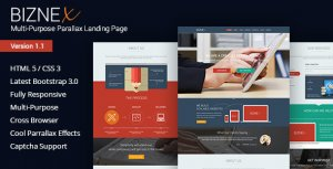 Top 10 Landing Page Templates On Themeforest