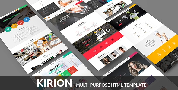 Multipurpose Bootstrap Template