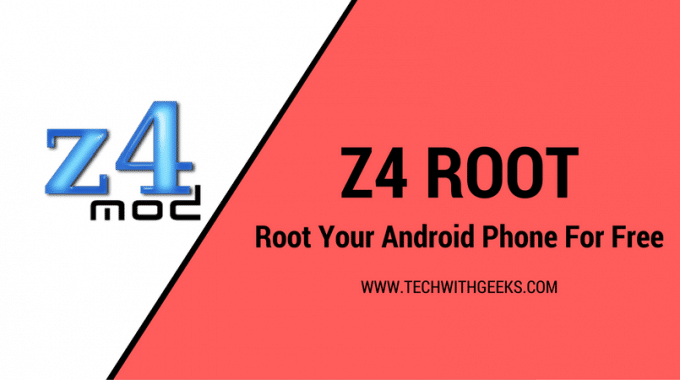 Z4Root App APK –  1 Click Root, Unroot, and Reroot Android App