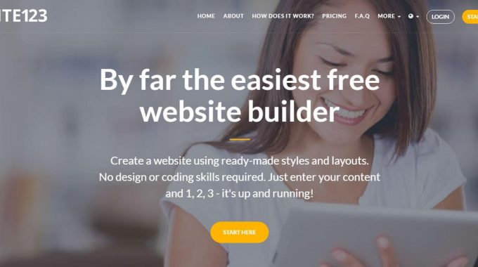 Build A Free Professional Looking Website Using SITE123