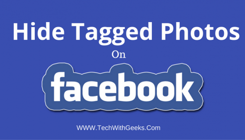 How To Hide Tagged Photos