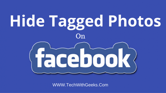 How To Hide Tagged Photos On Facebook?
