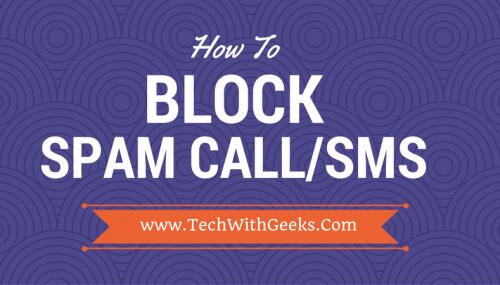 block spam calls