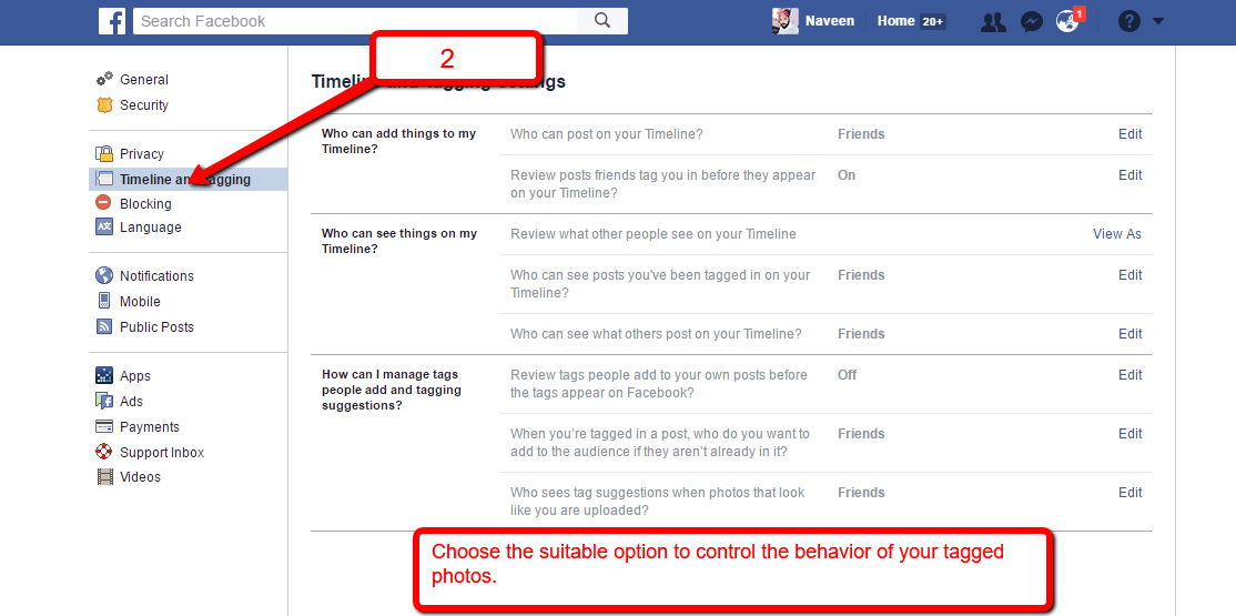 How to Hide Tagged Photo On Facebook