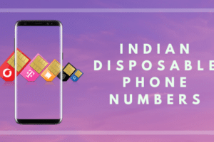 Indian DIsposable Phone Numbers