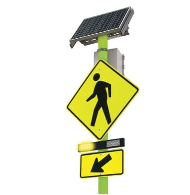 Features & Benefits of Using A Solar Pedestrian Crossing Sign