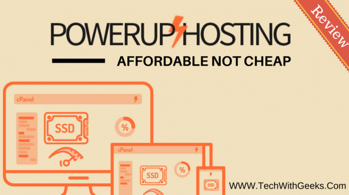 Power Up Hosting Review – Affordable Not Cheap