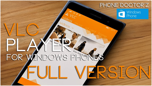 video player for Windows phones