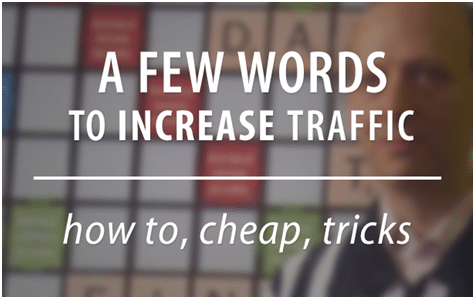 FAST SEO FIXES to get traffic to YourWebsite