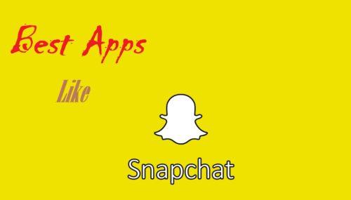 Apps Like SnapChat – Best SnapChat Alternatives