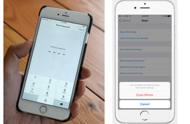 Factory Reset iPhone Without Password