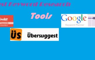 Top Five keyword Research Tools You can use in 2017